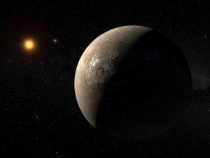 Exoplanet Proxima Centauri b