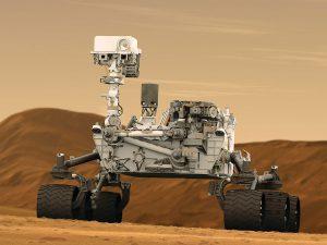 Mars Rover Artist Concept from NASA