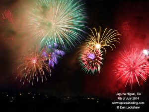 4th of July 2014 Fireworks in Laguna Niguel