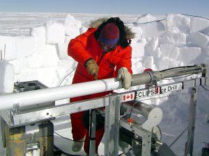 Retrieving an ice core